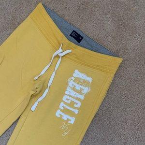 AE Yellow Sweatpants